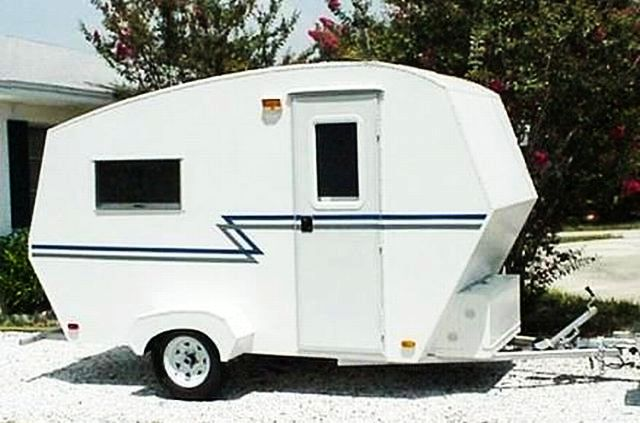 Tiny Camping Trailers the small trailer enthusiast Tiny Travel Trailers