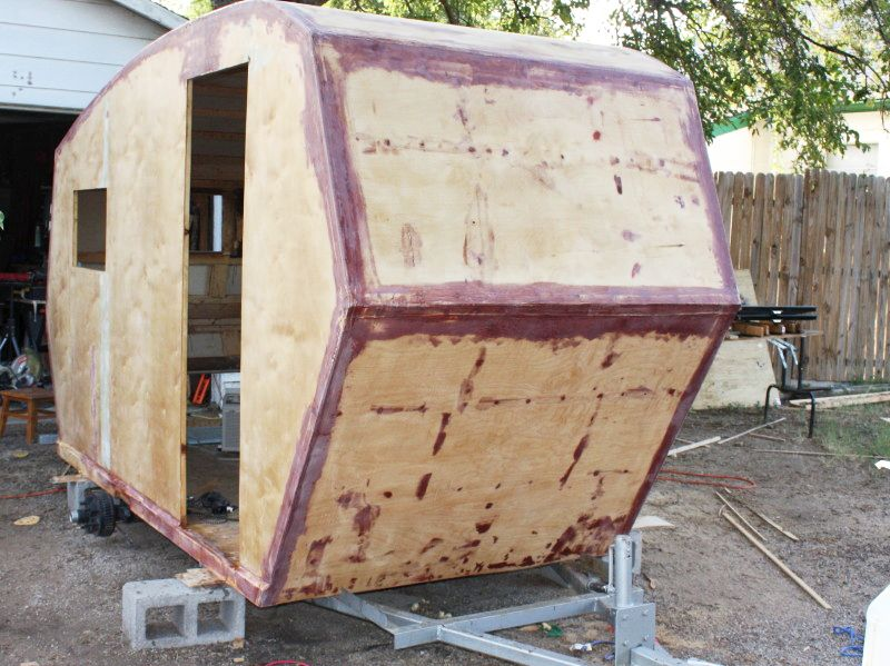 Norm M From New Mexico Sent These Photos Of His Squidget The First Four Are In Progress Shots Cabin And Then Two Completed Exterior